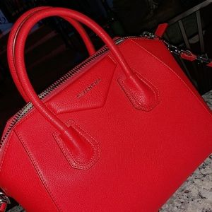 Givenchy Small Antigona Leather Satchel